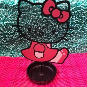 Hello Kitty Earring Holder Storage
